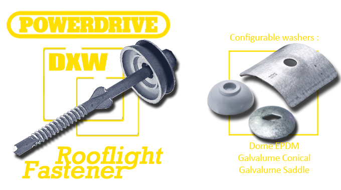 Powerdrive DXW Fasteners